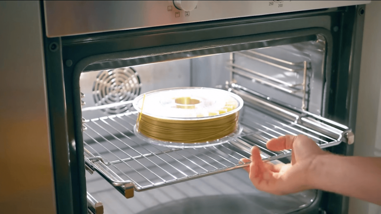 oven drying filament