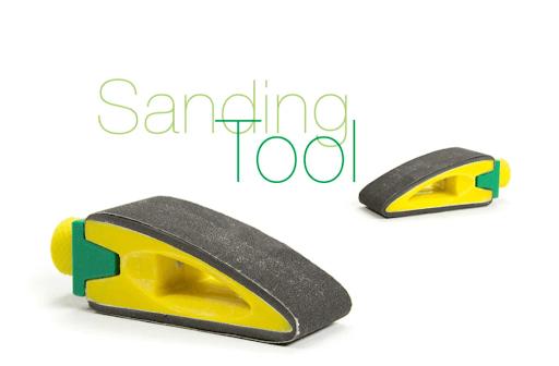 3d printed sanding tool