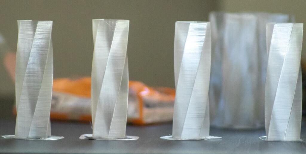 PETG 3D prints