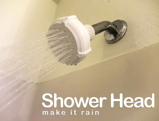 Rain Shower Head 3d printed