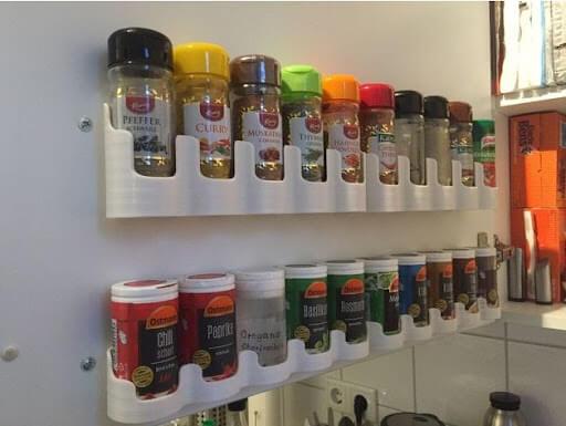 Spice Holder Kania (Lidl) Glass