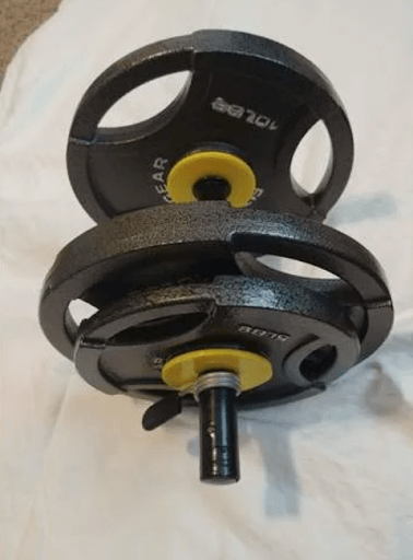 Standard to Olympic Conversion Weights 3d printed