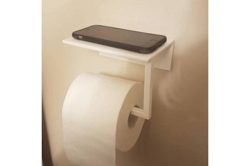Toilet Paper & Phone Holder