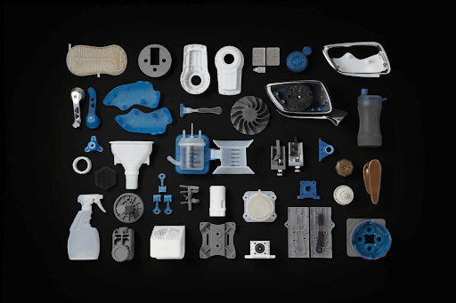 a variety of high precision materials 3d printed